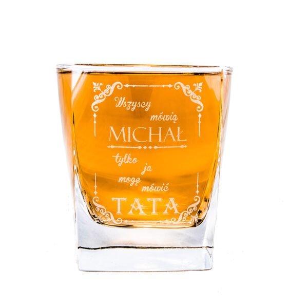 szklanka do whisky z grawerem